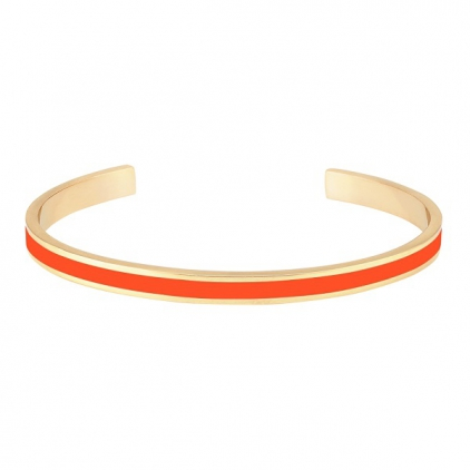 Jonc Bangle laiton doré - Tangerine