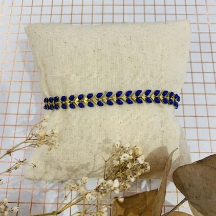 bracelet Paloma bleu électrique - 0403