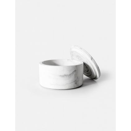 Dosa Storage Box - White Marble