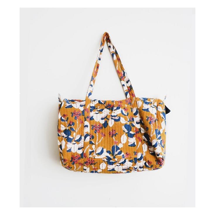 Weekend Bag - Iris - mustard
