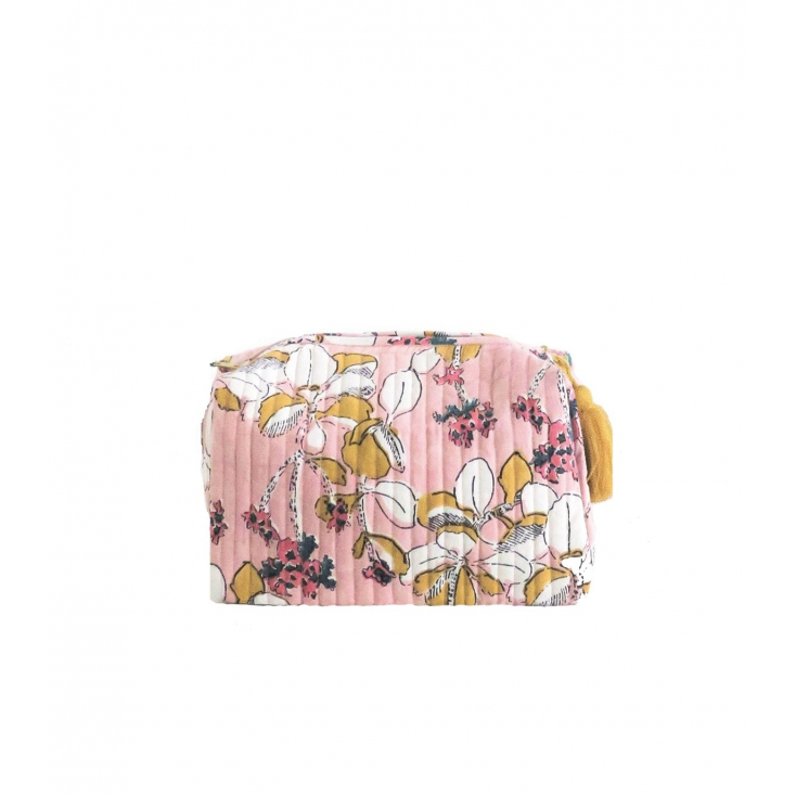Travel Pouch - Iris - Pink