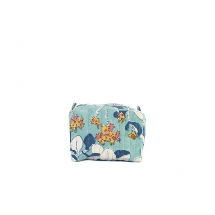 Travel Pouch - Iris - Blue
