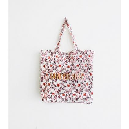 Tote Bag - La vie est belle - Offwhite