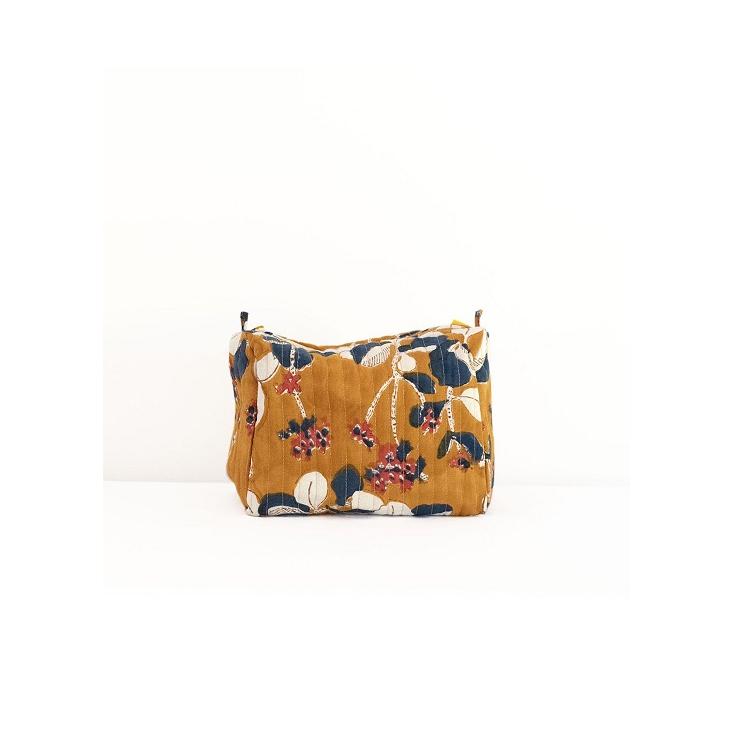 Travel Pouch - Iris - Mustard