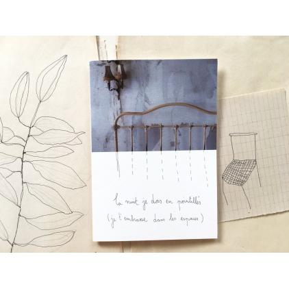 Papillonnage - carte postale - Pointillés