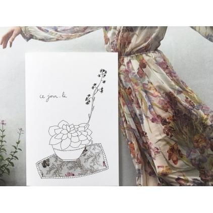 Papillonnage - carte postale - Ce jour-là