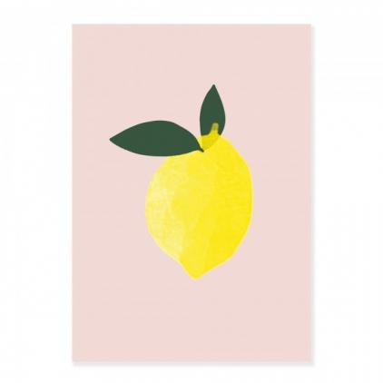 Affiche A3 Citron