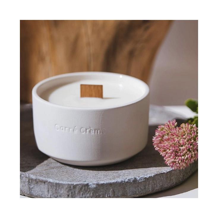 Bougie parfumée - Blanc - Fleur de Cerisier