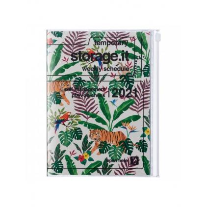Agenda Jungle B6 Beige