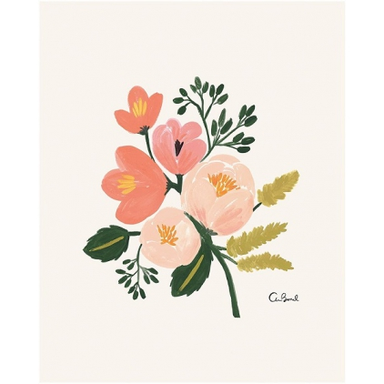 Affiche Rose Botanical- 20,3x25,4cm- Rifle Paper