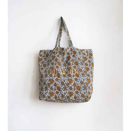 Tote Bag - Tout va bien - Chakori - Mustard/Blue