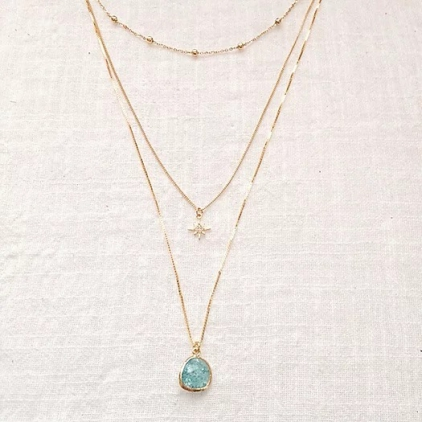 Collier triple - TO 010