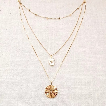 Collier triple - TO 012