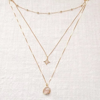 Collier triple - TO 009
