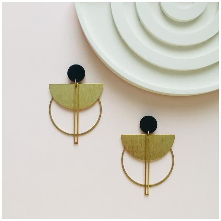 Boucles d'oreilles - BOAC 543