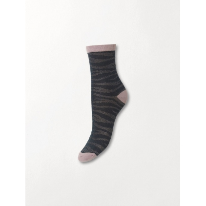 Chaussettes Zebra Glitzi sock - Darkest Spruce 39/41
