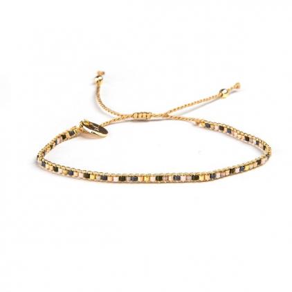 Bracelets cordon et perles - DOLORES