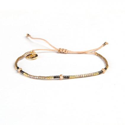 Bracelets cordon et perles - DORIANE