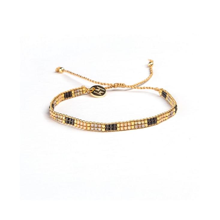 Bracelets cordon et perles - DORIEN