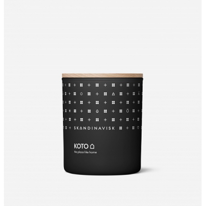 Scented candle with lid 200gr/50h - KOTO