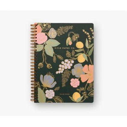 Notebook à spirale - Rifle Paper - Colette - 15x20cm