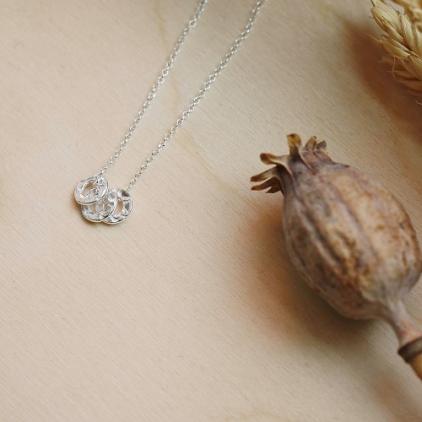 Collier Alexandra - argent 10571 Amulette