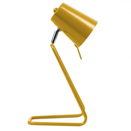 Lampe à poser - Z - metal ocre jaune