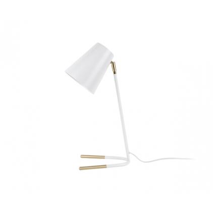 Lampe à poser - Noble - métal blanc