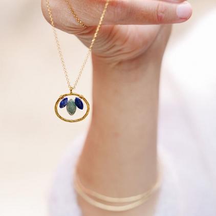 Collier Aura - confiance en soi - Amulette - 10713
