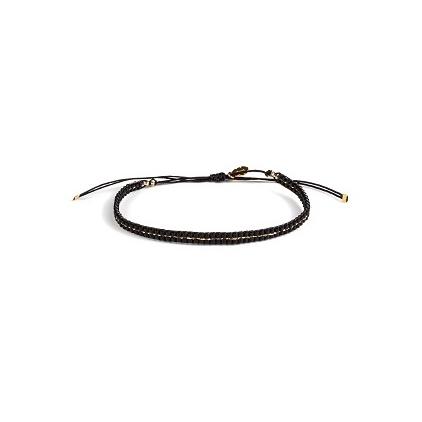 Bracelet Etincelle - Charbon