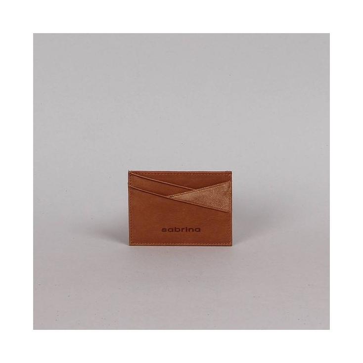 Porte cartes Ysée -  miel
