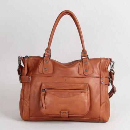 Camille - sac en cuir - couleur cuir