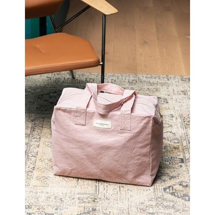 Célestin- Version Maternité en coton recyclé- Mineral Pink