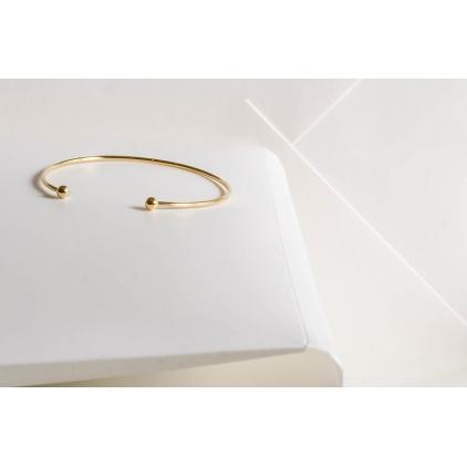 Bracelet Elodie - plaqué or