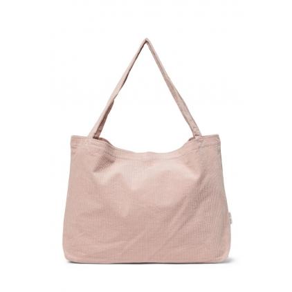 Mom-Bag - Dusty pink rib