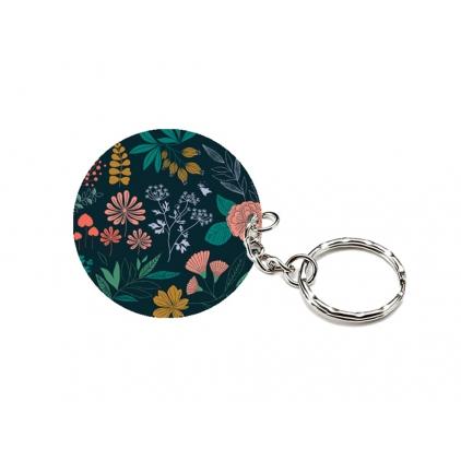 Porte-clés en bouleau - Herbier
