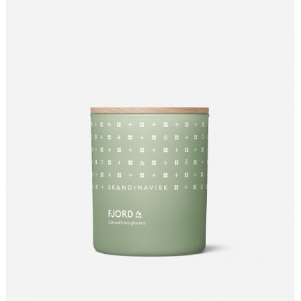 Scented candle with lid 200gr/50h - FJORD