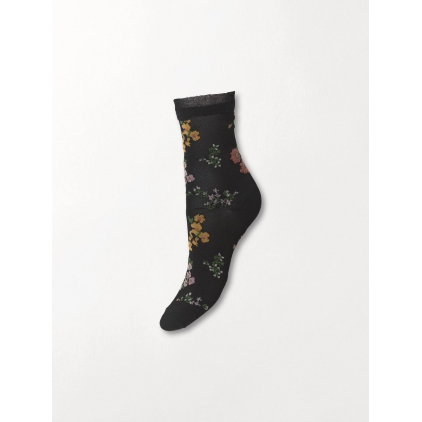 Chaussettes Flowerwhirl Myla sock - Black 39/41