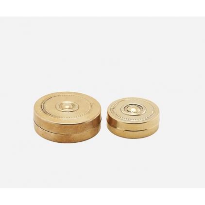 Storage mini brass Mkke 11 - set of 2