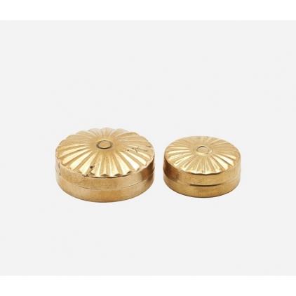 Storage mini brass Mkke 10 - set of 2
