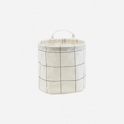 Storage - Squares - Black & white - Small