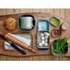 2 Assiettes-multi color-assorties-grès