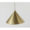 Conic lamp gold LARGE