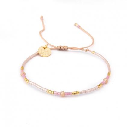 Bracelets cordon et perles - EDITH