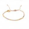 Bracelets cordon et perles - ESTHER