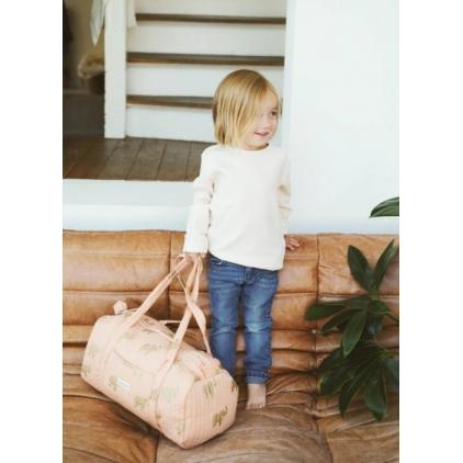 Weekend bag Peach Elephant