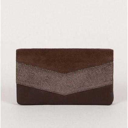 Portefeuille Kate D - Chocolat