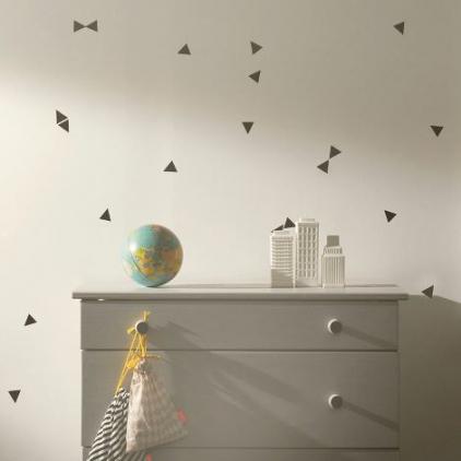 mini wallstickers - triangles black