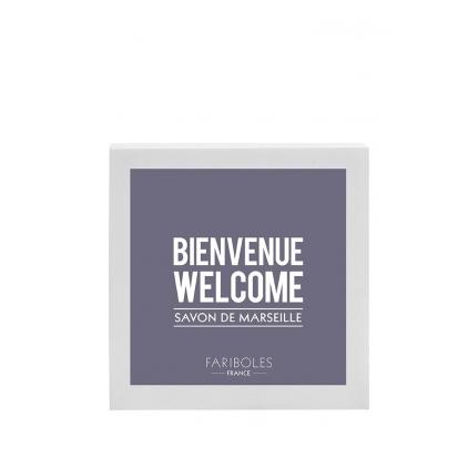 Savon brique Bienvenue Welcome