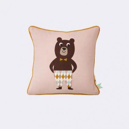coussin 30 x 30 cm - bear